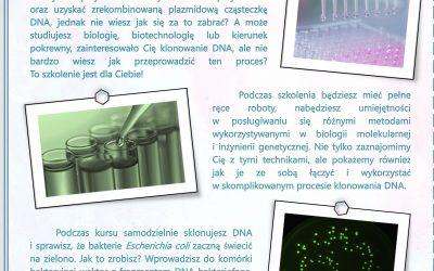 Sklonuj sobie DNA- Termin:  23 – 27 sierpnia 2021r.